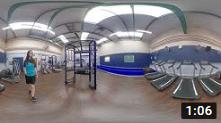 360 Loughlinstown Gym Floor Upstairs